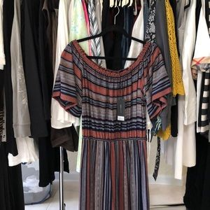 #BCBGMAXAZRIA Boho maxi dress brand new with tags.